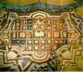 דגם רצפת המוזיאון