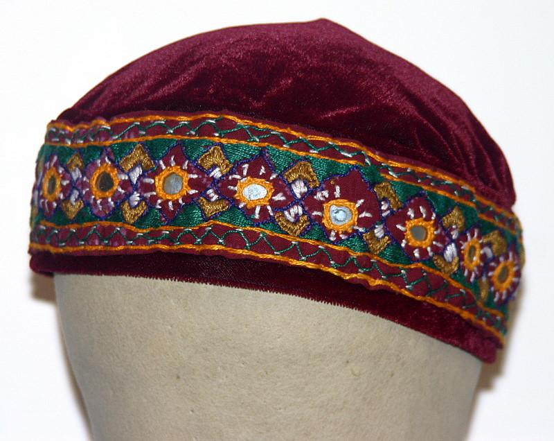 כובעים לנסיעות/כיפות לנשים/קטיפה אתני